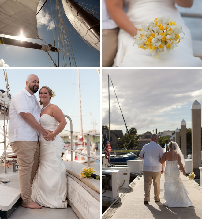 The Schooner Freedom Wedding by Jessica Connery Photography on ArtfullyWed.com