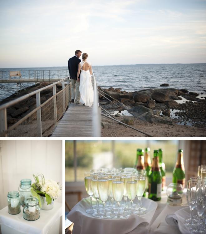 Old Lyme Beach Club Wedding by Justin & Mary