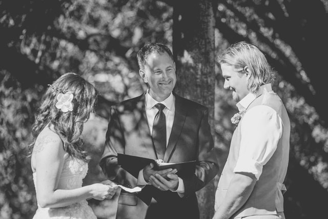 A rustic and eco-conscious backyard wedding in British Columbia | JMY Photography: http://jmyphotography.4ormat.com