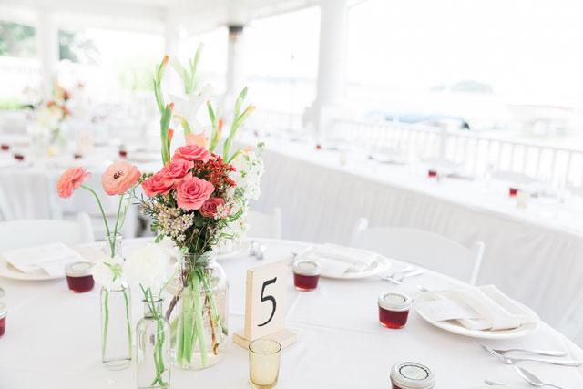 A simple yet romantic summer wedding at the lake at Bay Pointe Inn | The Jon Hartman Photography Co.: http://jonhartmanphoto.com