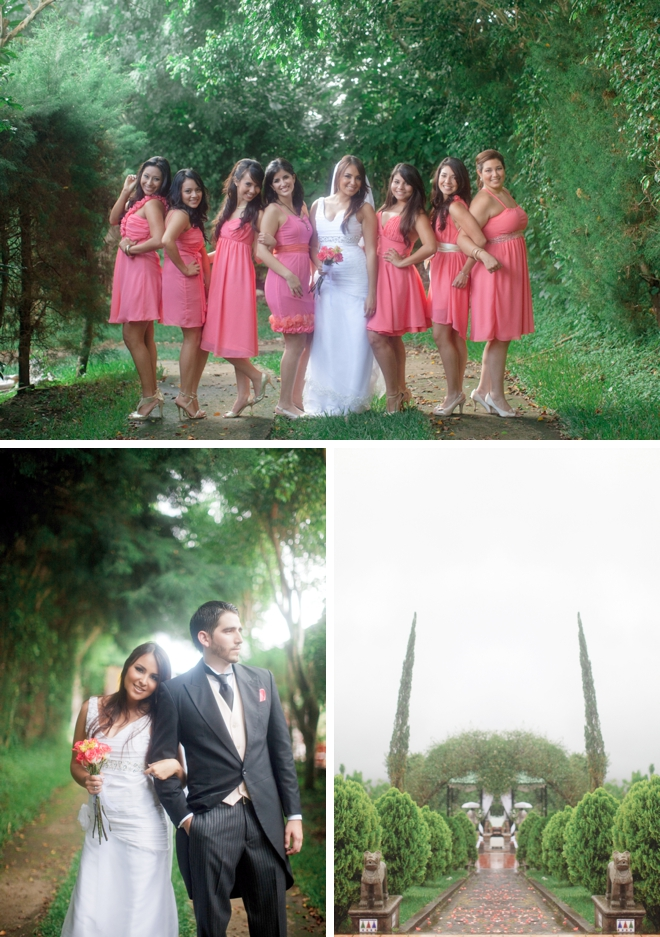 El Salvador Garden Wedding by Jordan Brittley