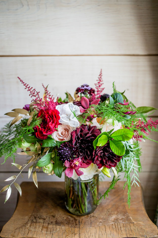A bold and fun navy blue and claret wedding in Charleston by Kaitlin Poirier Photo & Video