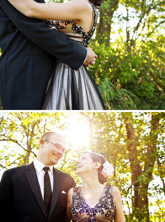 Backyard Wedding by Kandise Brown on ArtfullyWed.com