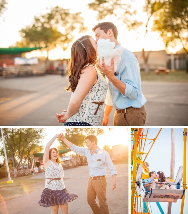 Whimsical Carnival Couple's Shoot by Katelyn Owens Photography