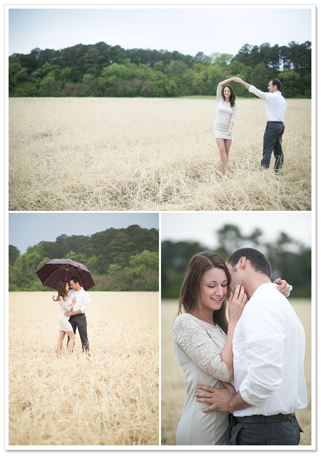 April Showers Engagement Session by Kristen Booth on ArtfullyWed.com