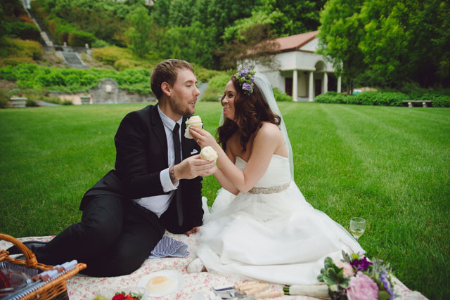 An intimate and romantic elopement at a Renaissance-style villa with a picnic celebration | kbattlephotography: http://kbattlephotography.com