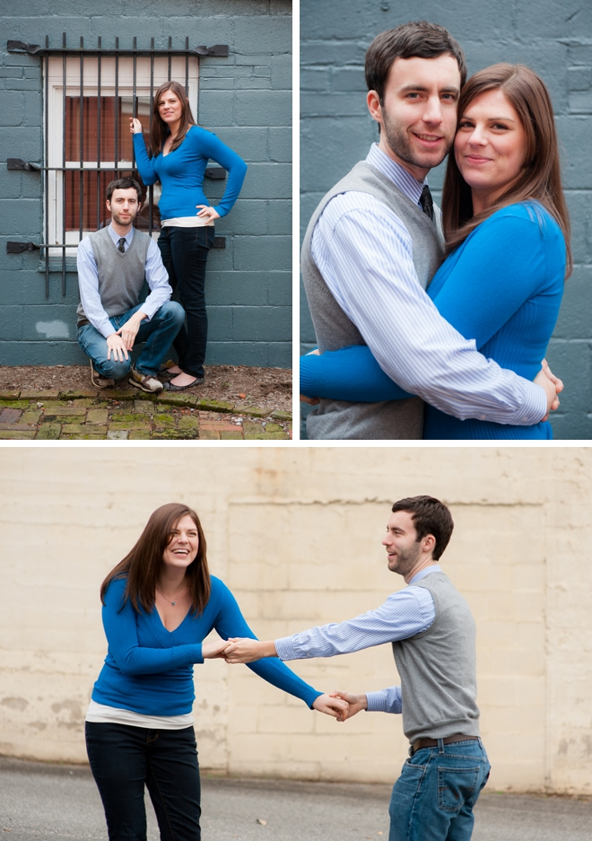 Historic Leesburg Engagement Session by Kelly Ewell Photography on ArtfullyWed.com