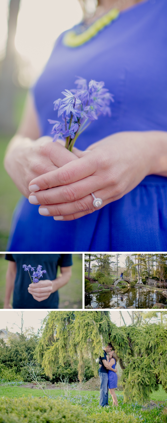 Fabyan Forest Preserve Engagement by Kristin La Voie Photography
