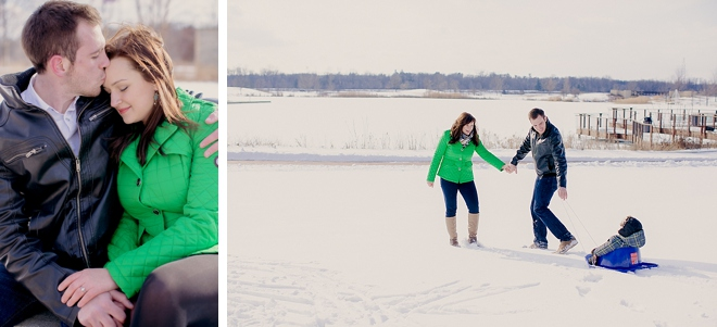 Independence Grove Engagement by Kristin La Voie Photography