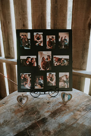 A rustic and bohemian destination wedding at Swallow Creek Ranch by Krizel Photography