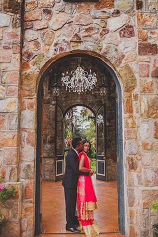 A colorful and romantic garden anniversary shoot in South Africa by L'Afrique Photography