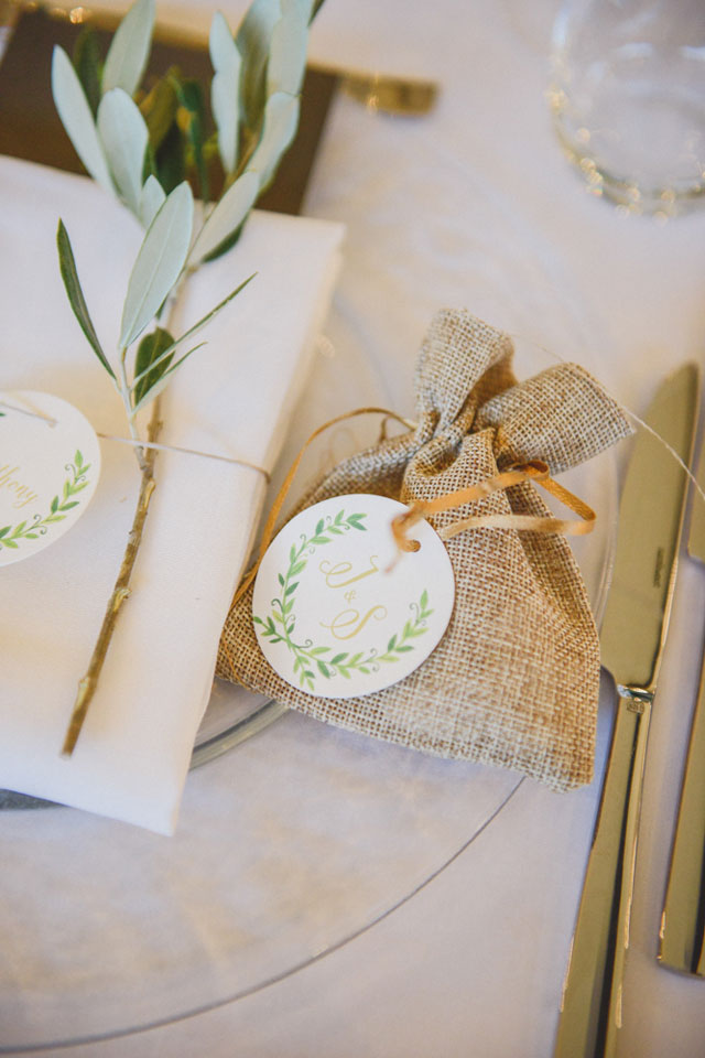 A Lake Como wedding with Tuscan details, olive branches and vintage touches by L&V Photography and TheKnotInItaly