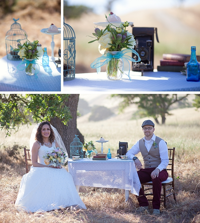Vintage Styled Bridal Shoot by Laura Hernandez Photography
