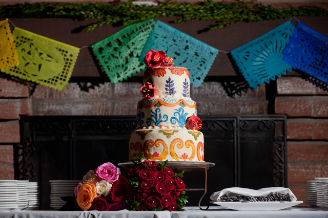 Colorful and bohemian Mexican-inspired wedding ideas | Laura Segall Photography: www.segallphotography.com