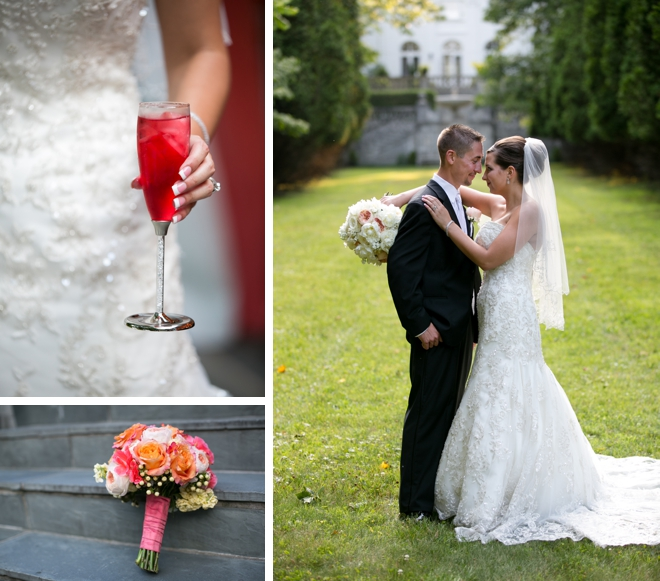 Strong Mansion Wedding by Laurie Bracewell Photography