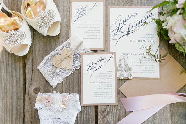 A glam Temecula winery wedding with a neutral color palette by Leah Marie Photography