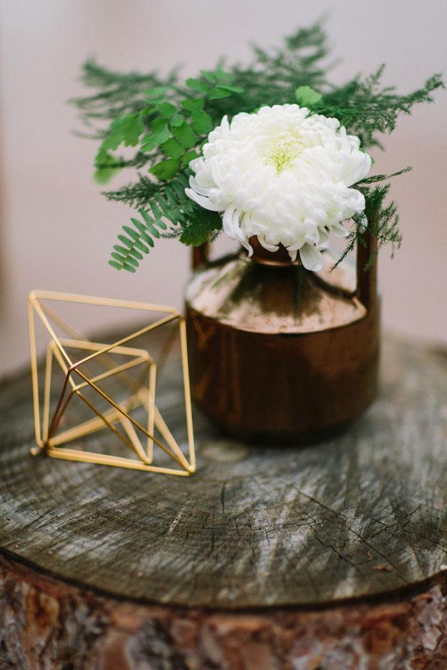 Creative Ideas for Spring Wedding Decor: Geometric Details
