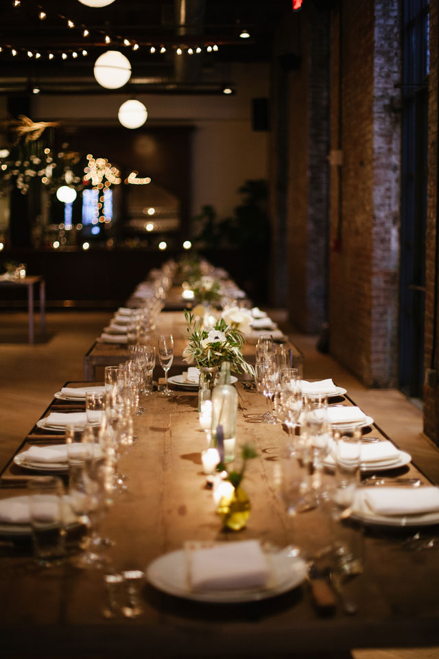 An urban wedding in Brooklyn at the Wythe Hotel by Levi Stolove Photography