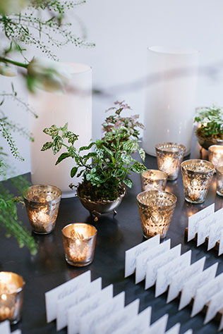 A greenery filled warehouse wedding at The Roundhouse in Beacon by Levi Stolove Photography