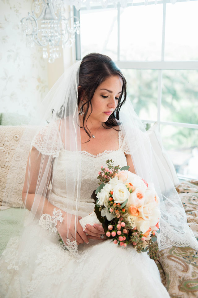 A rustic DIY spring Up the Creek Farms wedding in Florida by Lisa Marshall Photography