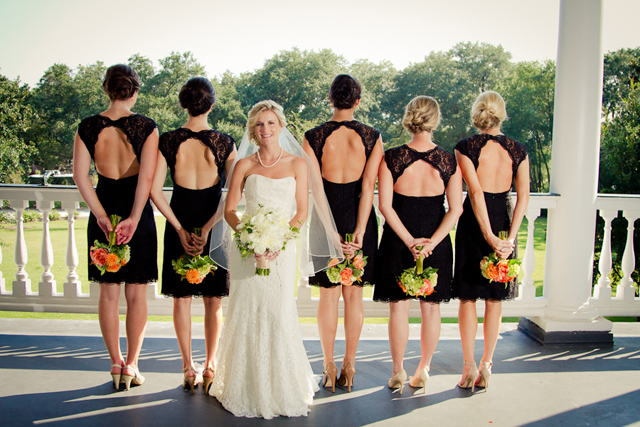 A sweet Southern wedding with a bold orange palette by Liz Duren and Sweetgrass Social Event & Design || see more on blog.nearlynewlywed.com