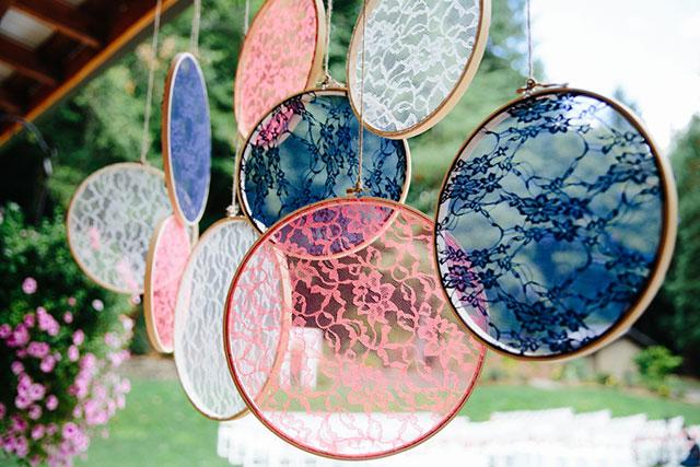 Creative Ideas for Spring Wedding Decor: Hanging Designs