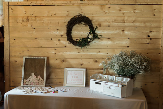 A rustic and romantic wedding at The Doctor's House, an historic venue in Newfoundland, by Maddie Mills Photo