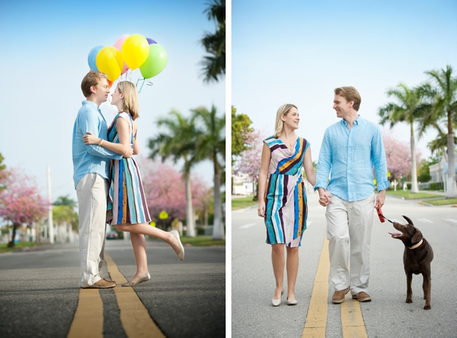 A sweet Lady and the Tramp-inspired engagement session by Maria Angela Photography || see more at blog.nearlynewlywed.com