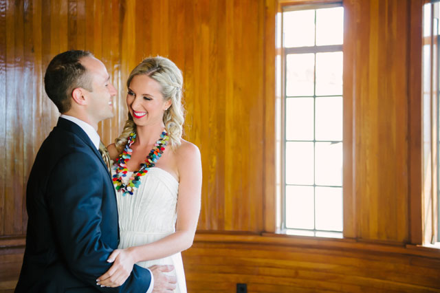A beautiful and creative travel themed wedding with vintage suitcases, an international candy bar and more // photo by Marissa Moss Photography: http://www.marissa-moss.com || see more on https://blog.nearlynewlywed.com