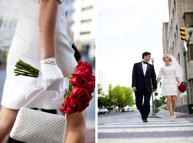 Intimate Harrisburg Wedding with a 60s-Inspired Dress by (mattnnat) photographers on ArtfullyWed.com