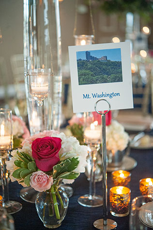 A preppy and elegant hot pink and navy blue wedding with exquisite florals | Meaghan Elliott Photography: http://www.mephotography.com
