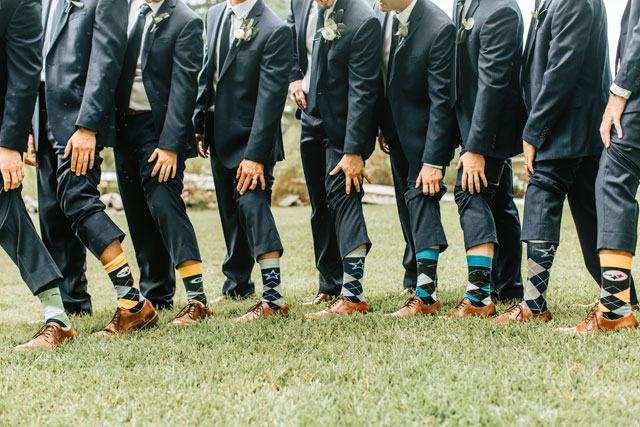 An elegant and rustic blue Virginia wedding with DIY details by Megan Morales Photography