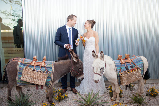 A fun and laid-back Lone Star State wedding by Mekina Saylor Weddings and Eclipse Event Co.