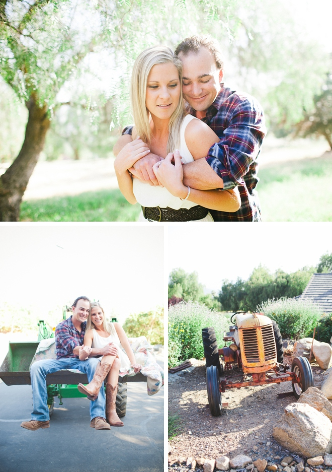 Red Barn Ranch Engagement Session by Melissa Biador Photography on ArtfullyWed.com