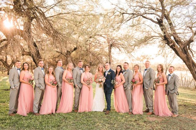 A charming, rustic Agua Linda Farm wedding in autumn by Melissa Holland Photography