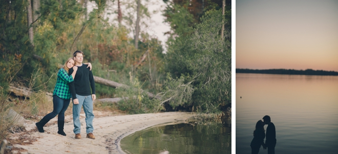 Cozy Camping Engagement Session by Melissa Stallings Photography on ArtfullyWed.com