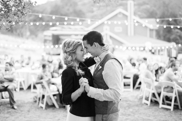 An adorable and handmade rustic yellow wedding at Owl Creek Farms | Mike Thezier Photography: http://mikethezier.com