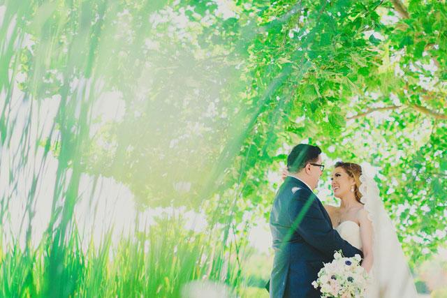 A sparkly blush and metallic wedding in San Ramon   Milou + Olin Photography