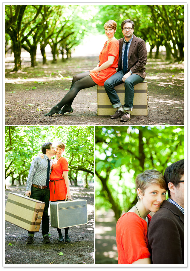 Quirky Coffee Shop Engagement by Murray Photography on ArtfullyWed.com