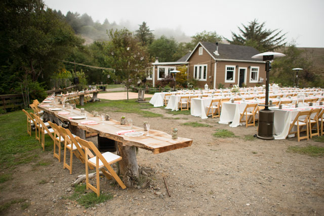 A California seaside ranch wedding with the perfect combination of DIY details, natural beauty and simple romantic style by Muir Adams Photography