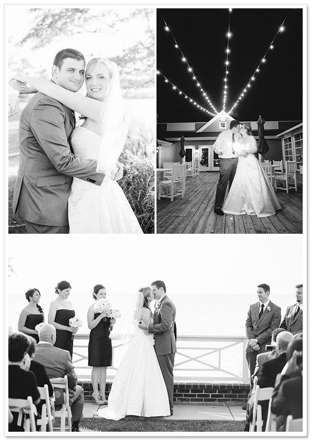 Chesapeake Bay Beach Club Wedding by Natalie Franke Photography on ArtfullyWed.com