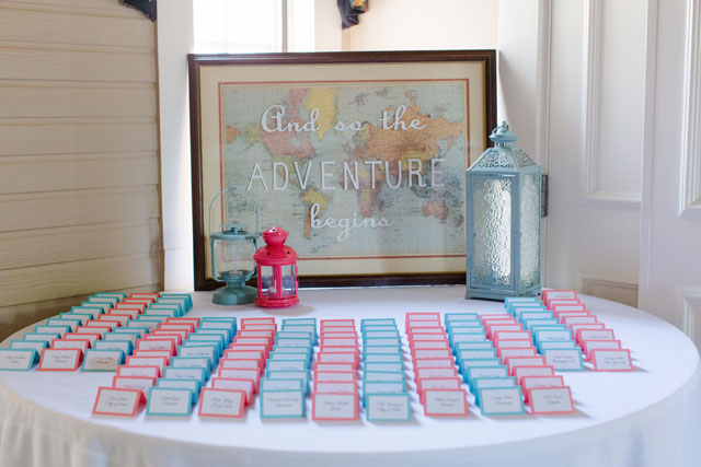 A charming turquoise and coral summer wedding in Richmond | Nicki Metcalf Photography: http://nickimetcalfphotography.com