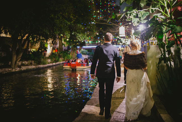 A vintage tavern wedding inspired by historic San Antonio with sweet DIY details // photo by Philip Thomas Photography: http://www.philipphotography.com || see more on https://blog.nearlynewlywed.com