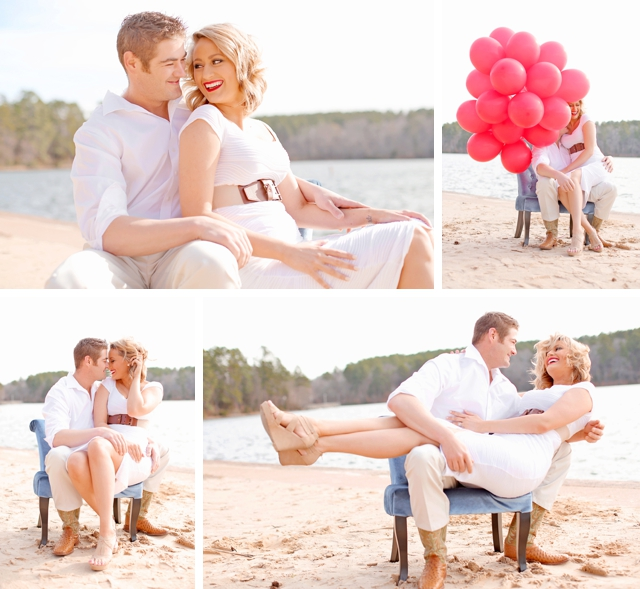 A romantic, wintery lakeside anniversary shoot by Photography by Gema || see more on blog.nearlynewlywed.com