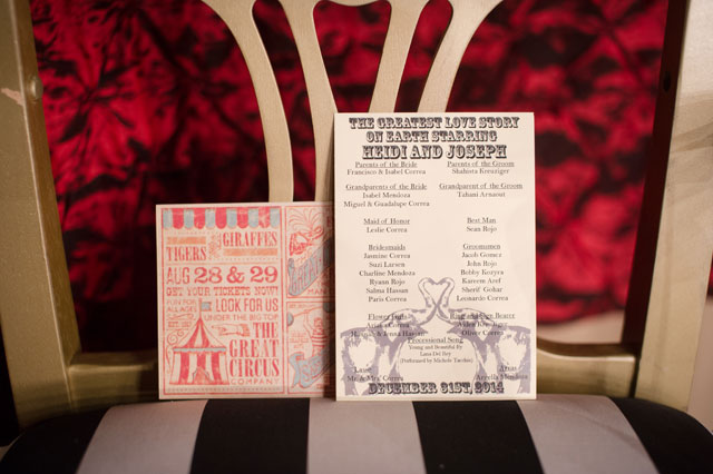 A colorful, multicultural New Year's Eve wedding in California with a vintage circus theme inspired by Water for Elephants | Rachael Hall Photography: http://www.rachaelhallphotography.com
