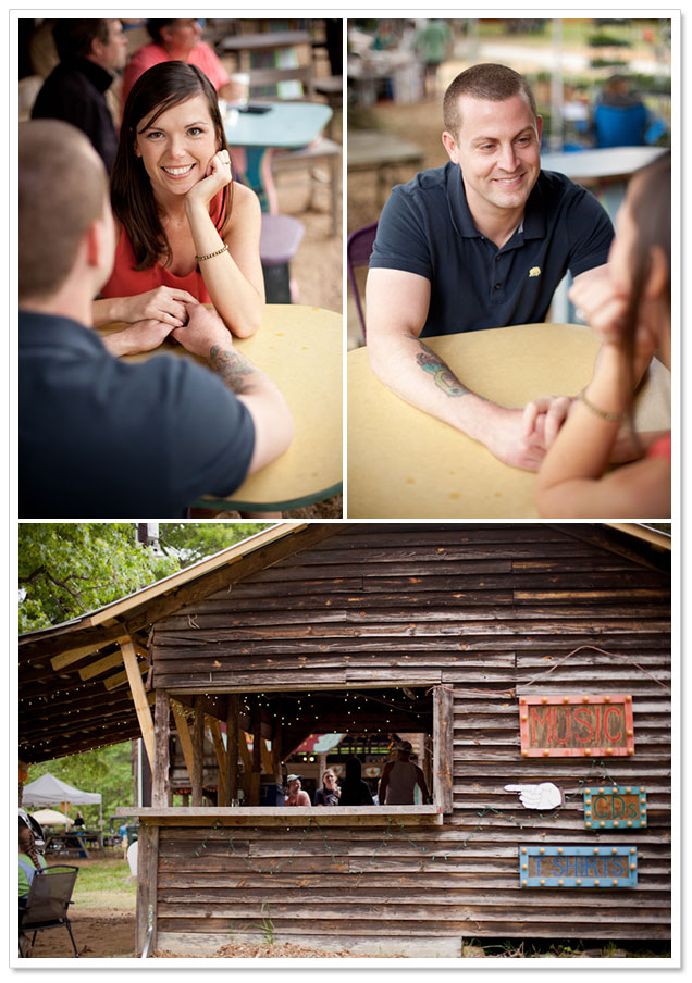Bohemian Shakori Hills Engagement Session by Rebecca Ames Photography on ArtfullyWed.com