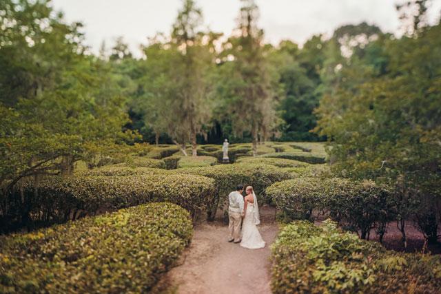 A vintage blush and ivory spring wedding at the Magnolia Plantation and Gardens   Richard Bell Photography: http://www.charlestonwedding.com