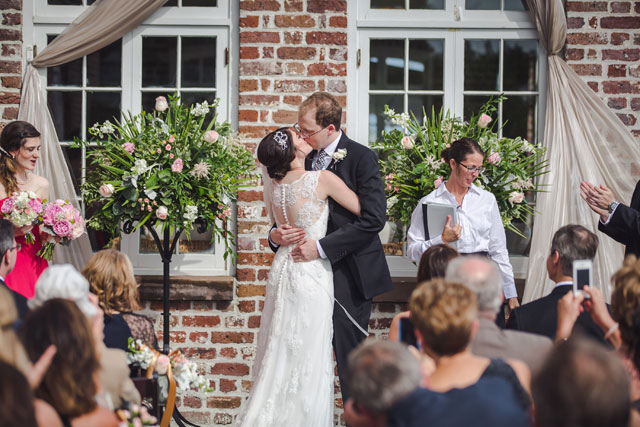 A sweet Southern wedding at the Historic Rice Mill in Charleston   Richard Bell Photography: http://www.charlestonwedding.com