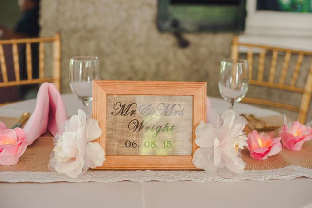 A charming Charleston wedding with rustic pink details | Richard Bell Photography: http://www.charlestonwedding.com