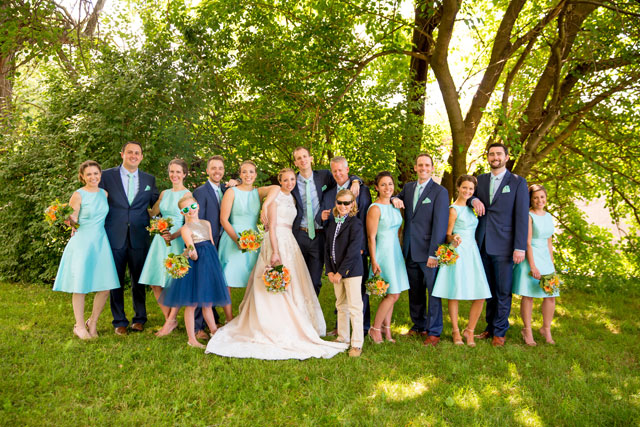 A sweet Reading Art Works wedding for high school sweethearts by Sarah Rachel Photography